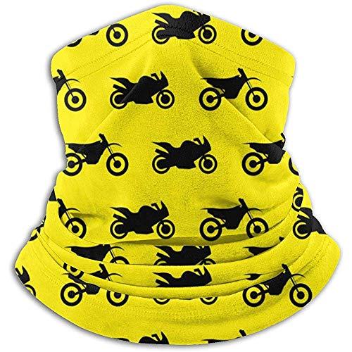 GWrix Motorfiets patroon nekwarmer Gamas bivakmuts skimasker koud weer gezichtsmasker winter hoed hoofddeksels voor mannen vrouwen zwart