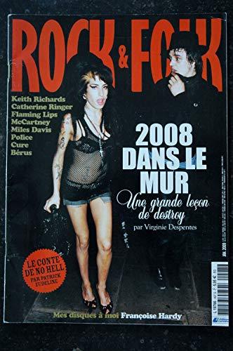 ROCK & FOLK 497 Keith Richards Catherine Ringer Flaming Lips McCartney Miles Davis Police Cure Bérus Françoise Hardy