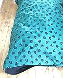 doggyzzzuk Wasserdicht Hund Bett Kissen Schwere Pflicht Tough Abnehmbare Hochwertigen Cover XXL
