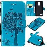 Zchen LG K9 Case, PU Leather Wallet Phone Case Flip Book