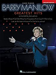 Barry manilow - greatest hits, 2nd edition piano
