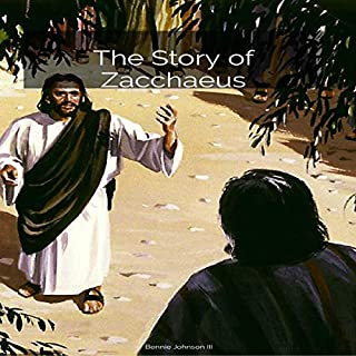 The Story of Zacchaeus audiobook cover art