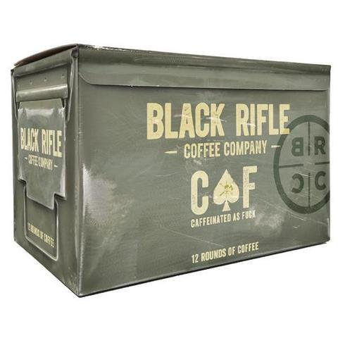 Black Rifle Coffee K-Cups 2 Boxes of 12(24 -K cups) (CAF)