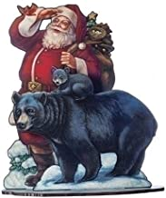 ROMAN Sleigh Bells Ring Standing Santa Multi