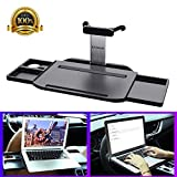 Car Laptop Desk Heavy Duty, KFZMAN Automative Foldable Laptop Mount Tray for Steering Wheel and...