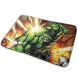 LZMM SanRe Hulk Hero-Interior Exterior Entrada de Bienvenida Alfombra Alfombrillas Raspado...