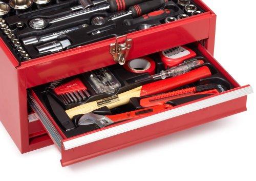 Brüder Mannesmann M29066 Bestückte Werkzeugbox, 155-tlg - 3