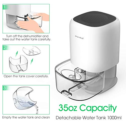 Product Image 4: ALROCKET Dehumidifier 35oz (1000ml)