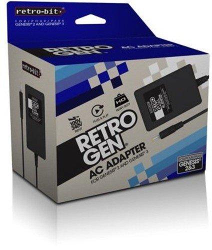 Retro-Bit Sega Max 46% OFF Genesis Industry No. 1 2 and Adapter - 3 AC