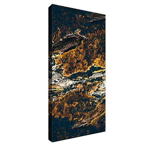 Akustikbild mit Grafiken 100x50x6 cm by Addictive Sound – Akustikplatten Schallabsorber Raumakustik – Viele Designs - Gold_2