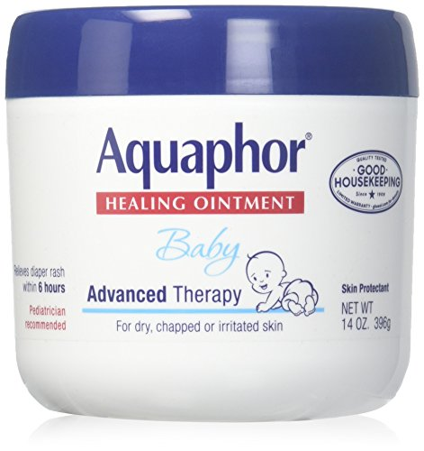 Aquaphor Baby Healing Ointment Advanced Therapy Skin Protectant 14 Ounce Pack of 3