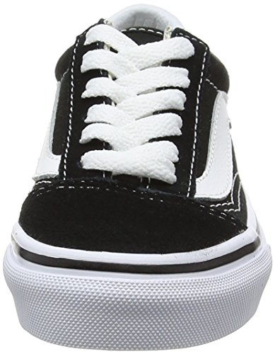 Vans Kids Old Skool Black/True White Skate Shoe