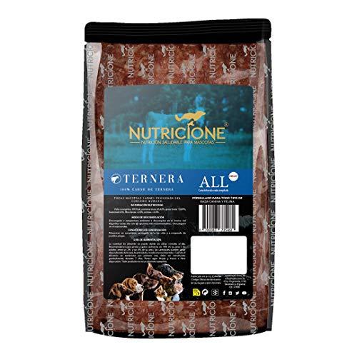 Nutricione Barf Carne de Ternera 9Kg congelada (9 Paquetes de 1Kg)