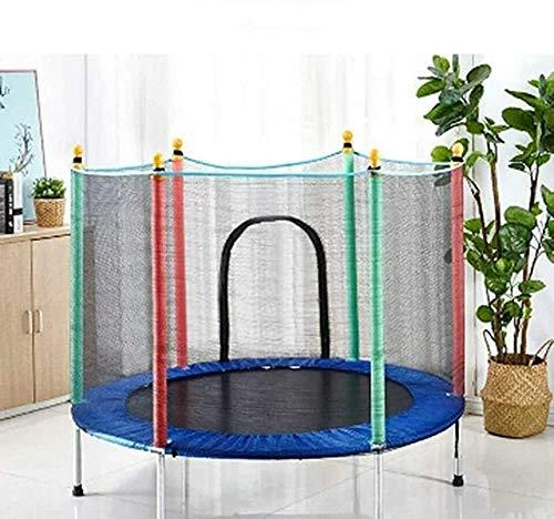 FANQIE Indoor-und Outdoor-Sport-Trampolin mit Netz Safe Mini-Trampolin für Kinder zur Verfügung Stellen kann,B