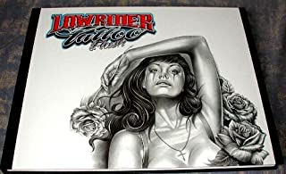 Lowrider Tattoo Flash (Chicano Gangster Cholo Deluxe Hardcover Book from Italy)