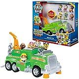 Paw Patrol - 6052962 - Jeu enfant - Camion de Recyclage de Rocky Total Team Rescues - La Pat' Patrouille