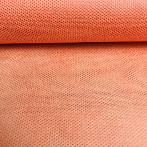 LAS TELAS ... Pack TNT Colores 3Mtrs,  Tejido sin Tejer,  Tejido no Tejido,  Tejido para Ropa Desechable Médica. Ancho 0, 80 Mtr. 70Grms. (Coral)