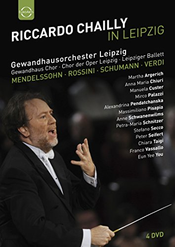 Riccardo Chailly in Leipzig [4 DVDs]