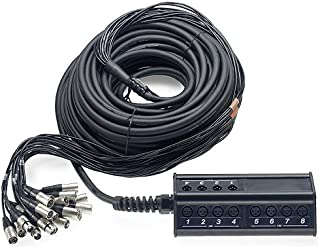 Stagg 25020878 NSB DL Stage Box (16 XLRF a 4 XLRM, 30 m)
