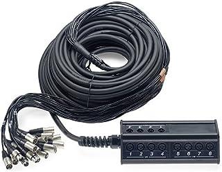 Stagg 25020878NSB DL Stage Box (16XLRF a 4XLRM, 30m)