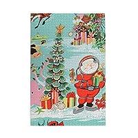 パズルunderwater Christmas fabric 1000ピース 木製パズルミニ 大人の減圧 絶妙な誕生日プレゼント