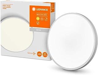 LEDVANCE for Ceiling | ORBIS Click Sensor / 24 W | Beam Angle: 120 | Warm White | 3000 K | Steel | IP20