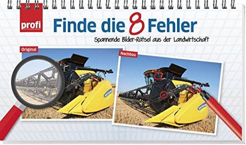 Finde die 8 Fehler: Spannende Bilder-Rätsel aus der Landwirtschaft.