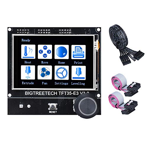 BIQU DIRECT TFT35 E3 V3.0 Touch Screen Display RepRap Smart Controller Panel Compatible with SKR V1.3 SKR PRO Board for Ender 3/CR10 3D Printer