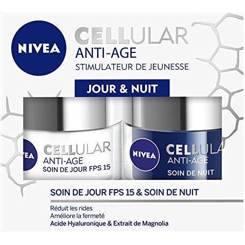 Nivea Cellular Anti-Age Coffret Soin de jour et Soin de nuit 2x50 ml