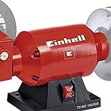 Einhell TC-WD 150/200 Smerigliatrice Combinata da Banco, Rosso...