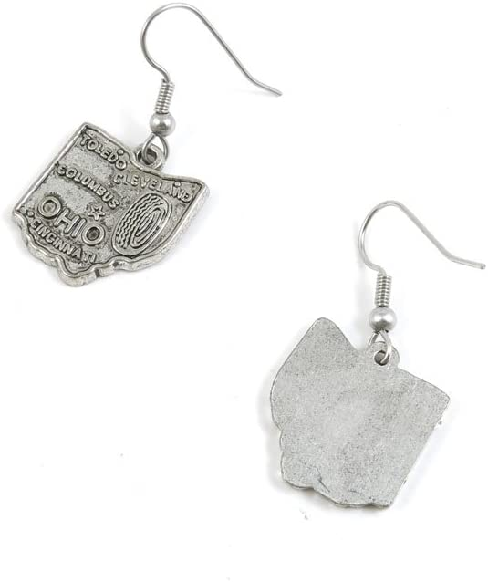 50 Pairs Earrings Antique Silver 5 ☆ very popular Fashion Tone Jewelry Dedication Making Cha