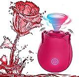 Newly Vibrant Licker for Women - Rose Shape Flower for Her (Red)