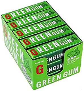 lotte green gum