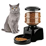 ETTG eTTgear Betteries Operated Pet Dry Food Dispenser Dog Large Automatic Pet Feeder Food Station Record Your Voice with LCD Display