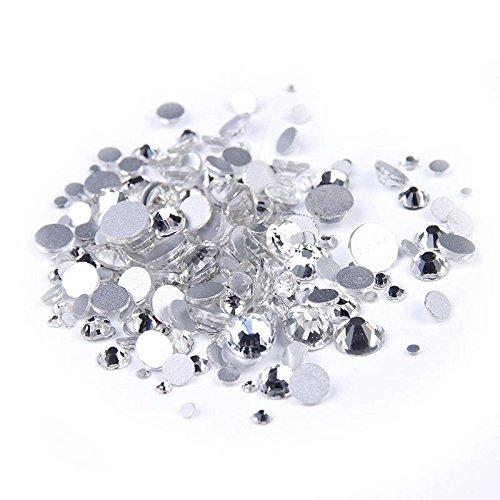 majorcrafts 1408mm SS40Schalter, für Crystal Clear flach Rücken-Glas ersetzt Schnitt Strass Kristall Gems C01