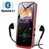 Mp3 Player, 8GB Music Player with Bluetooth, Built-in Speaker, Portable HiFi Lossless Sound Music Player with...