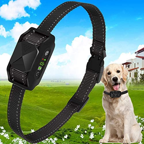 iTecFreely Dog Bark Collar No Bark Collar Electric Vibrating Waterproof Shock Collars Rechargable product image
