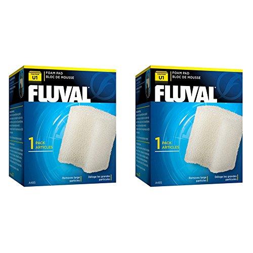 Fluval U1Acuario Filtro de repuesto Almohadilla de espuma * Paquete de dos * * Original * Bundle