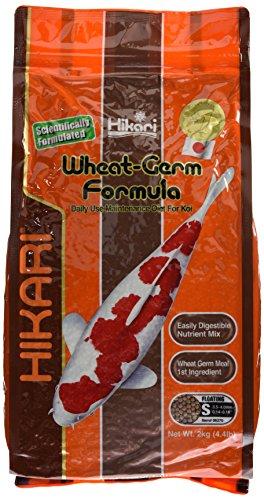 Hikari 4958/1582 Wheat Germ Japanisches Koifutter, Inhalt: 2.0 kg, Größe: 2.7-4.0 mm