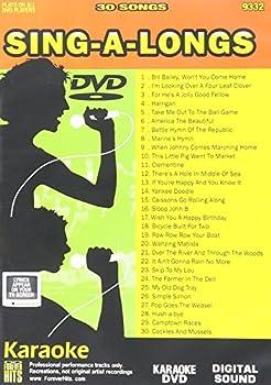 Karaoke DVD  Sing-A-Longs