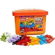 Mega Construx GJD23 Wonderbuilders Bausteinebox mit 480 Teilen, Box mit Bausteinen für Kreative, Spielzeug ab 4 Jahren