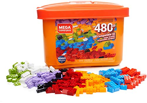 Mega Construx Caja 480 piezas bloques construcción