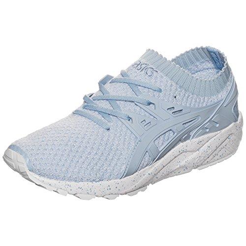 ASICS Damen Gel-Kayano Trainer Knit Sneaker, Blau (hellblau/weiß hellblau/weiß), 37 EU