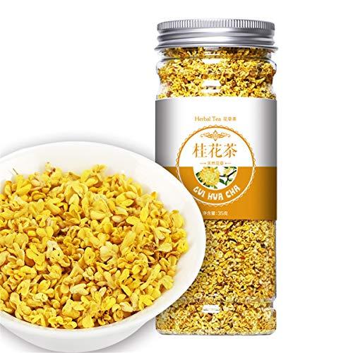 Chinesischer Kräutertee-Blumen-Frucht-Tee Rose Tea Golden Silk Chrysanthemum Bottled New Scented Tea Gesundheitswesen-Blumen-Tee-gesundes grünes Lebensmittel (35g Osmanthus)