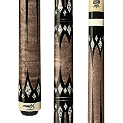 HXT-65 Antique Birds Eye Maple with Diamonds Technology Pool Cue