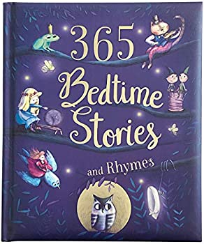 365 Bedtime Stories & Rhymes Children's Hardcover Book