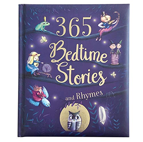 365 Bedtime Stories & Rhymes Children's Hardcover Book $7 + FS w/ Amazon Prime, FS on $25+ or FS w/ Walmart+, FS on $35+