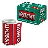 PKA 16412 - Rollo con 200 etiquetas'Urgente'
