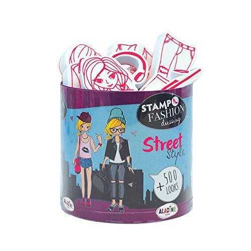 Aladine- STAMPO Fashion Dressing City Street, 05451