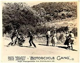 Motorcycle Gang Original Lobby Card 1957 Bikers Anne Neyland Steve Terrell